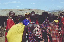 Haggling with the Masai